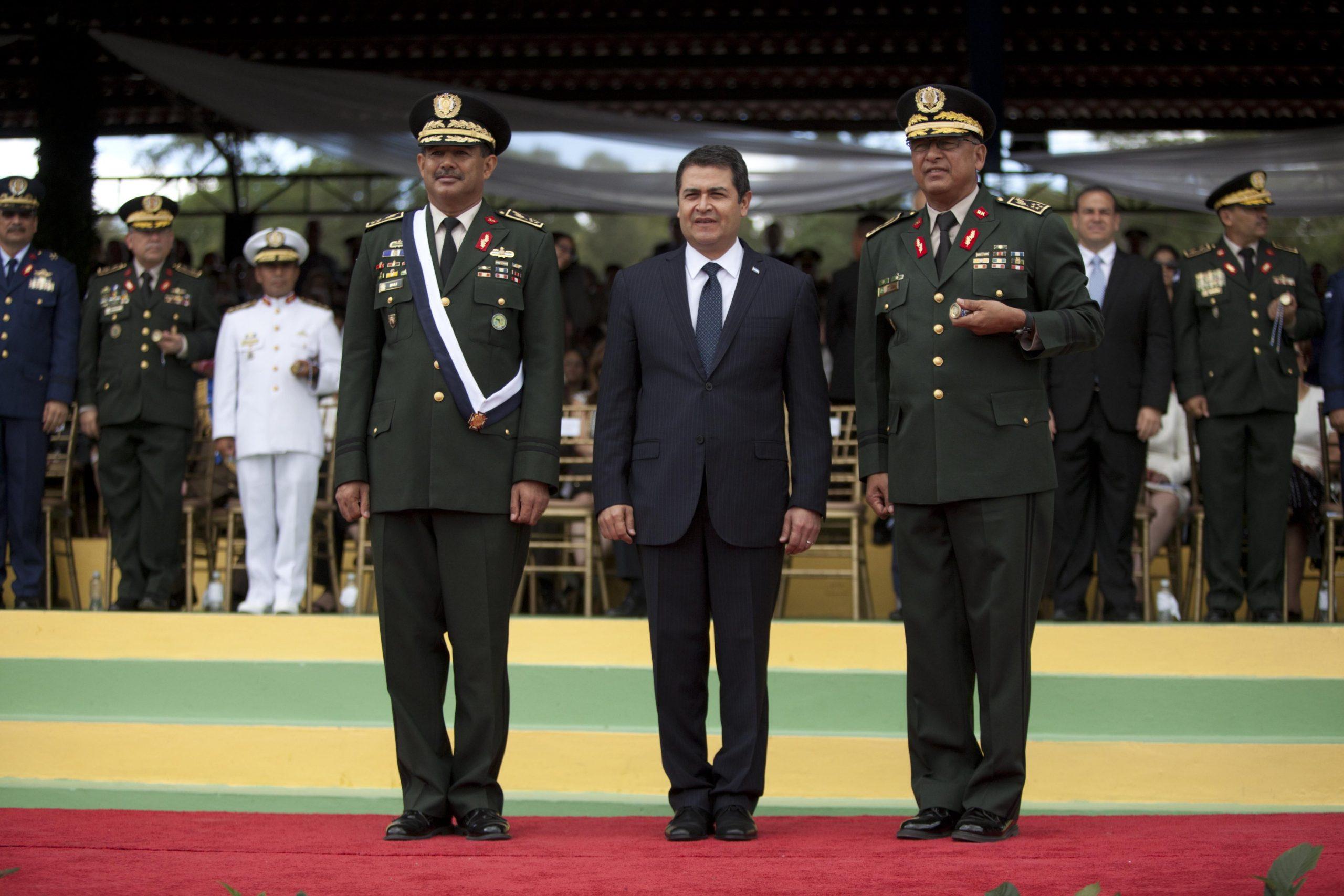 HONDURAS, militares en lugar de médicos